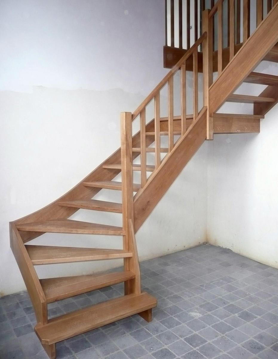 escalier claire voie menuiserie maxence antoine escaliers classiques escalier en s clairevoie. Black Bedroom Furniture Sets. Home Design Ideas