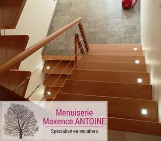 Menuiserie Maxence Antoine - Escaliers contemporains