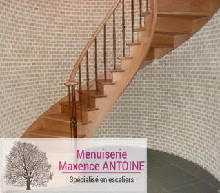 Menuiserie Maxence Antoine - Escaliers classiques